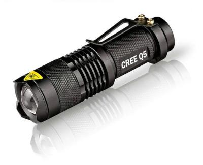 LED Flashlight with Zoom